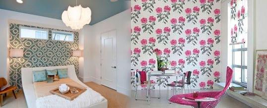 Maneras para decorar tu casa con papel de pared decorativo