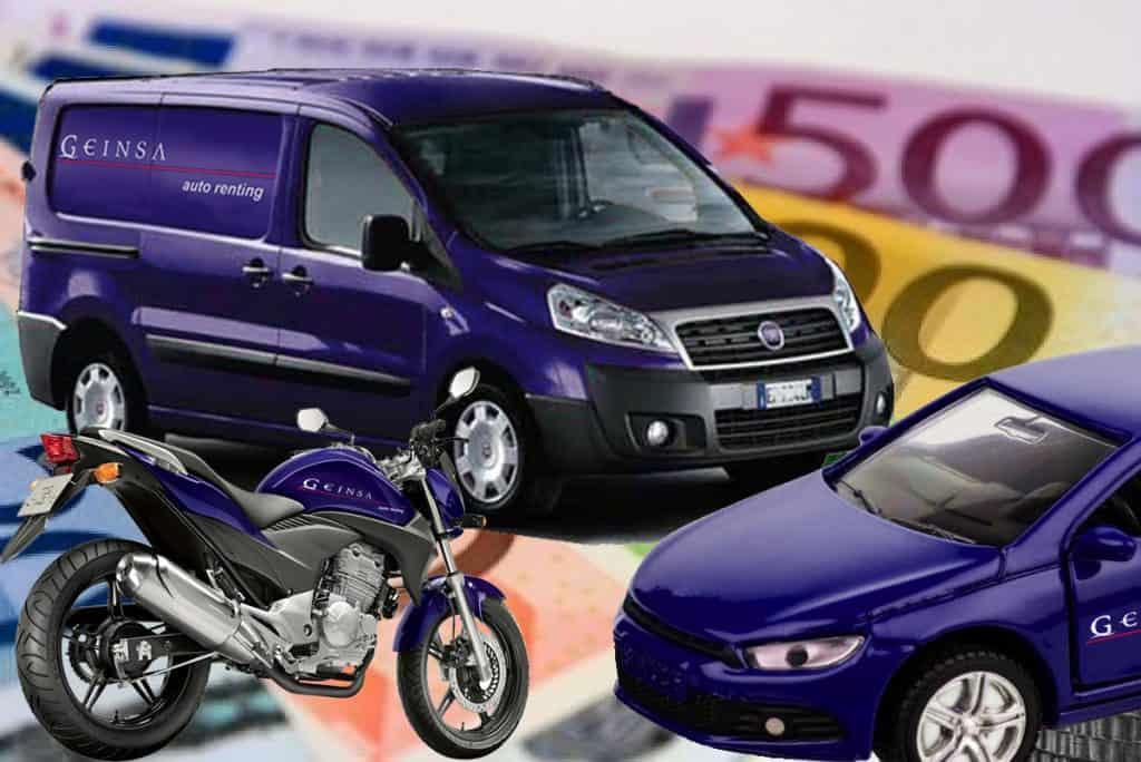dinero por tu vehículo