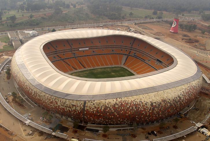 1. Soccer City (Johannesburgo, Sudáfrica)