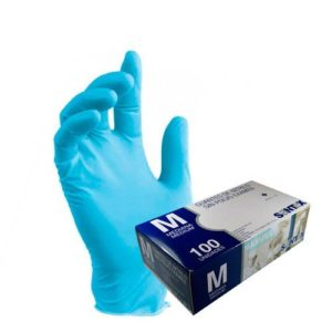 guantes-azules-de-nitrilo-de-santex