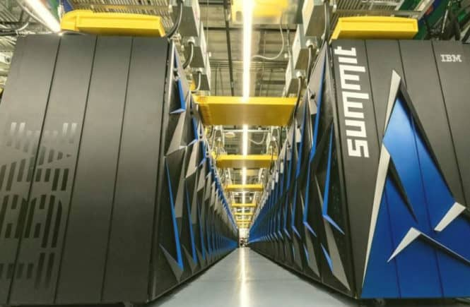SUmmit la supercomputadora mas rapida del mundo