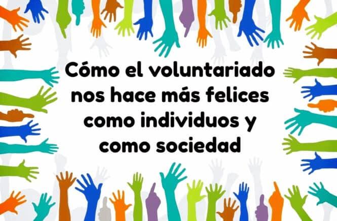 voluntariado nos hace felices
