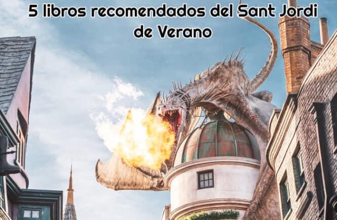 5 libros recomendados del Sant Jordi de Verano